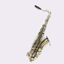 Tenor sax Saxophone Bb antique brass surface Wind Instrument Sax Western Instruments saxofone Musical Instruments saxophone