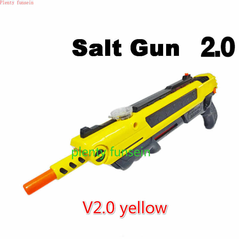New Creative Bug fly a baster Salt gun Pepper Bullets Blaster insect buster  Airsoft Blow killer Mosquito Toy Gift laser aiming
