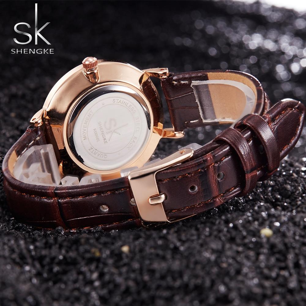 SK Super Slim Silver Mesh Stainless Steel Watches Women Top Brand Luxury Casual Clock Ladies Wrist Watch Lady Relogio Feminino 3