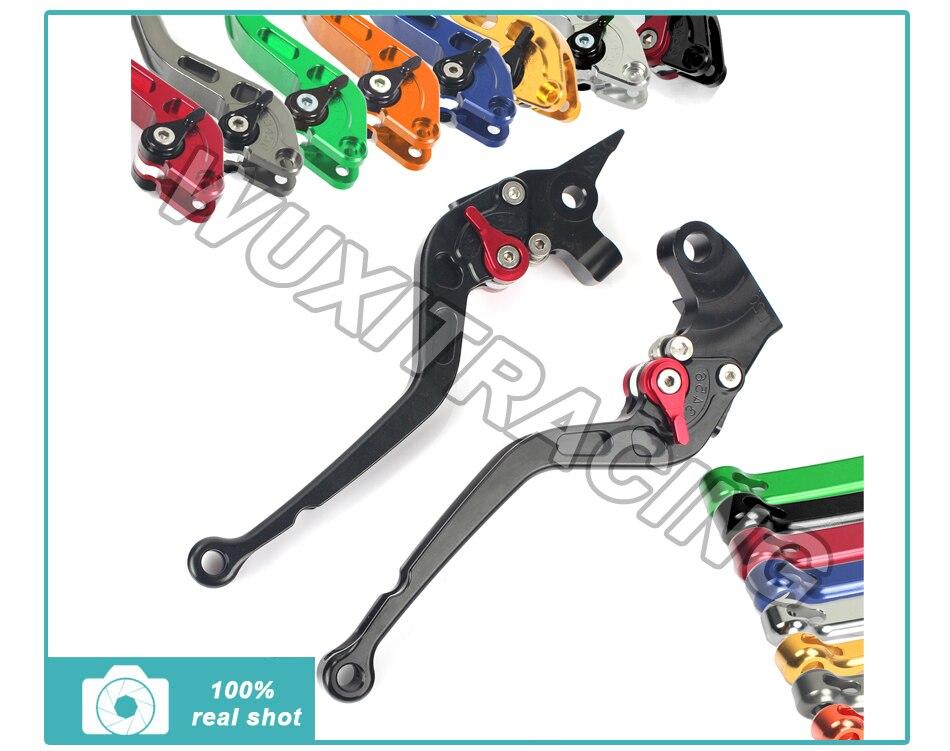 Long Straight Adjustable Brake Clutch Levers for Yamaha FZ6 FAZER 04-10 FZ6R 09-11 FZ8 11-14 MT-07 MT-09/SR/FZ9 14 billet aluminum long folding adjustable brake clutch levers for yamaha mt 01 1670 04 09 05 06 07 08 v max 1700 09 14 10 11 12 13
