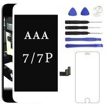 Класс дисплей для iphone 7 7 Plus ЖК-дисплей AAA сенсорный экран с дигитайзером сборка Замена для iphone 7 8 ЖК-дисплей с инструментом
