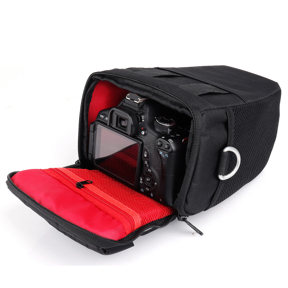 DSLR Camera Bag Shoulder Case For Canon EOS 6D 60D 77D 100D 200D 1300D 1200D 1100D 750D 5D SX50 SX60 T7 T6i SX540 Photo Backpack