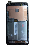BLACK Color LCD Touch Screen Digitizer Assembly For Asus Fonepad Note 6 FHD6 ME560CG ME560 K00G with Frame