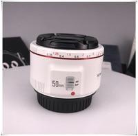 YONGNUO YN50mm F1.8 II Large Aperture Auto Focus Lens White for Canon Bokeh Effect Camera Lens EOS 70D 5D II 5D3 600D DSLR