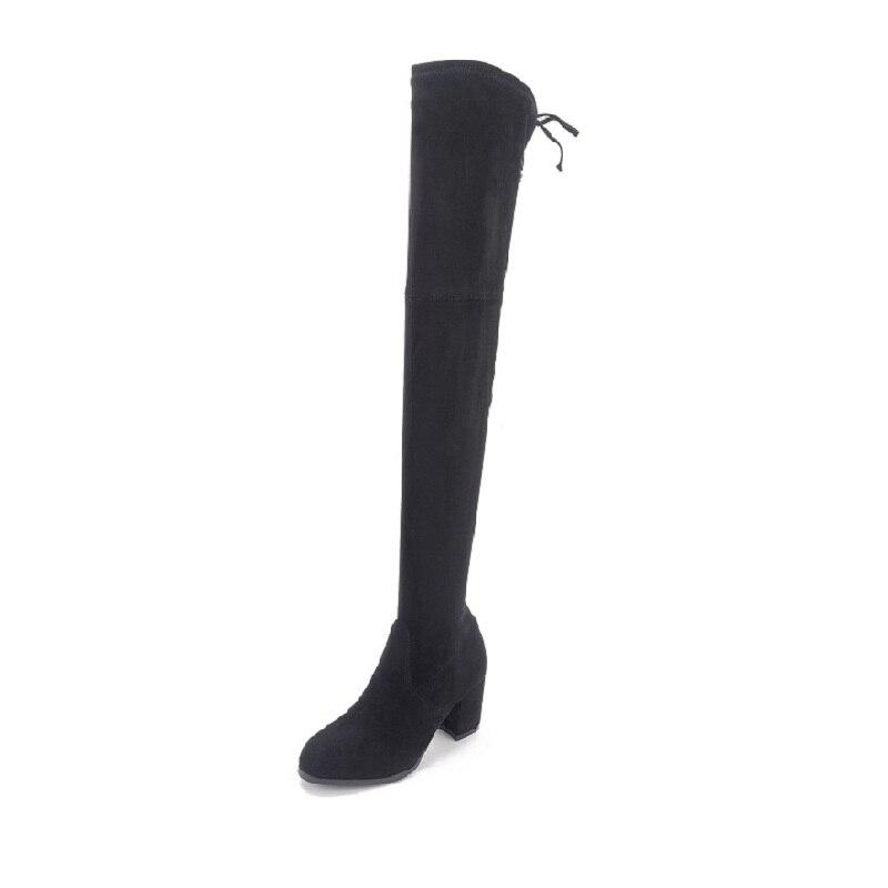2018 automne nouveau bottes extensibles sur le genou mode plus velours slim coton bottes femmes bottes noir ljj 01102018 automne nouveau bottes extensibles sur le genou mode plus velours slim coton bottes femmes bottes noir ljj 0110