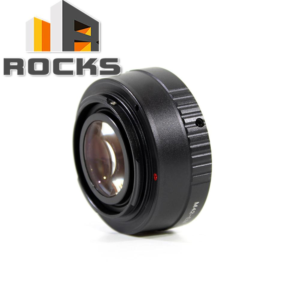 Pixco Speed Booster Focal Reducer Lens Adapter Suit For M42 Lens to suit for Canon EOS M