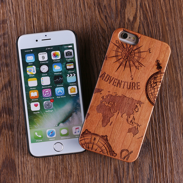 Natural Wood Adventure Case for iPhone 5
