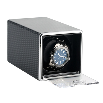 Meccanico Watch Winder Motore Shaker Supporto Orologi ricariche Della Cassa Per Orologi A Carica Automatica di Monili Di Stoccaggio Box + Cavo USB