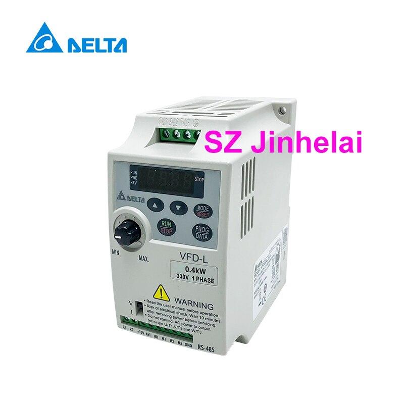 DELTA  VFD004L21A  Authentic original VFD-L Single phase Inverters 0.4KWDELTA  VFD004L21A  Authentic original VFD-L Single phase Inverters 0.4KW