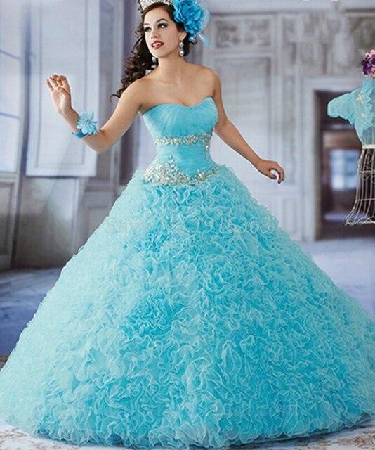 Nova Quinceanera vestidos doce 16 vestidos Vestido De Debutante Para 15 Anos turquesa Quinceanera vestidos