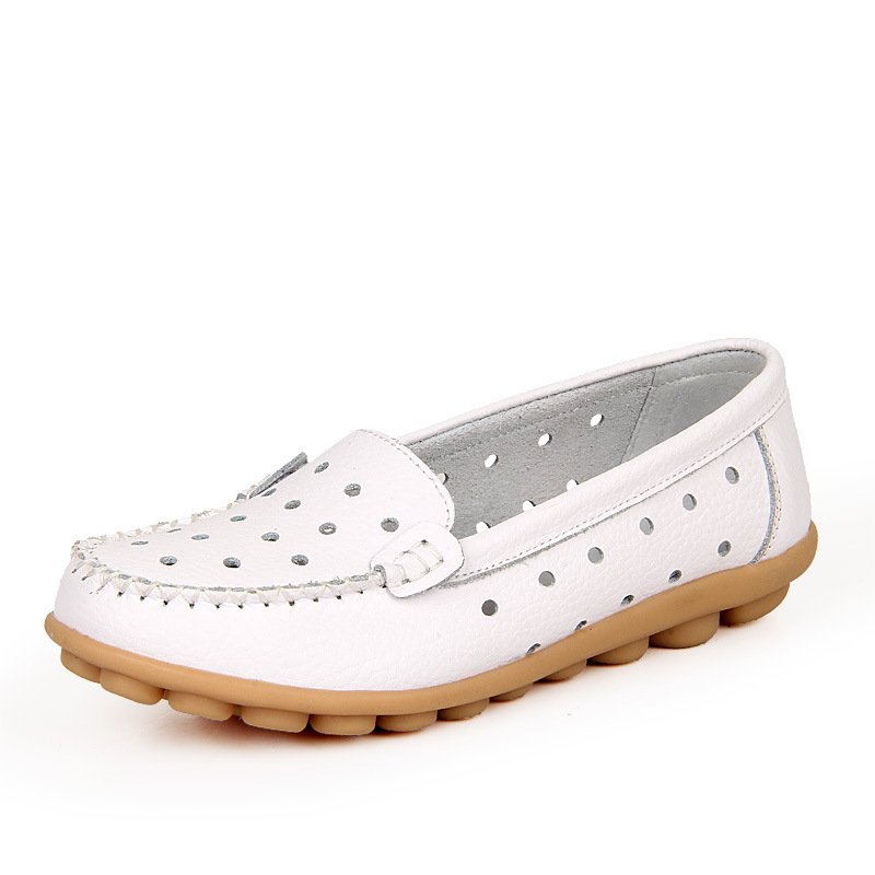 ladies walking shoes women casual shoes solid slip on loafers comfortable women flat shoes sh020081