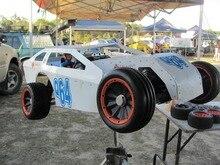 Piezas de rc, Baja Neumáticos rueda 1/5 Trasera Pista de Tierra (2) + Ranura frontal neumáticos (2) Fits HPI Rovan Baja 5B SS Rey Motor Buggy