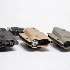 Image 4 - FMA G17L SF ile hafif rulman kılıf bel hızlı tabanca kılıfı G17/G19 ve X300 lambalar 1329