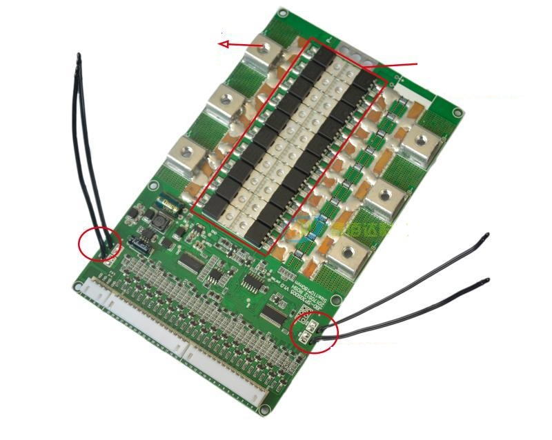 US $91 11 5% OFF|20S 72V or 84V Lithium Ion battery Smart BMS with UART  communication port Li ion battery Bluetooth PCB with 100A Current-in  Electric