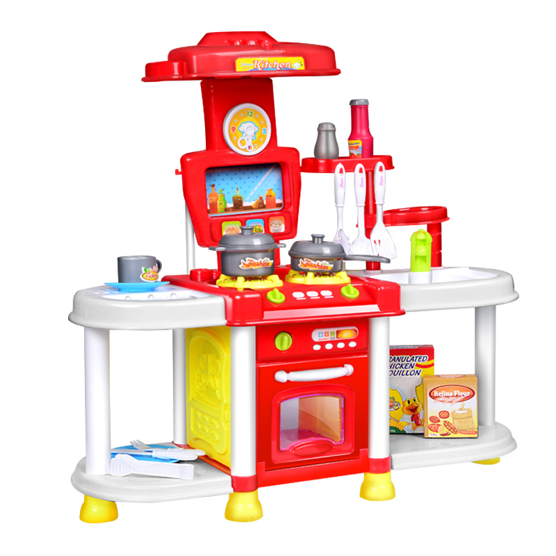 Bargain price kitchen toy set kids simulation kitchen toys for Kitchen set for babies