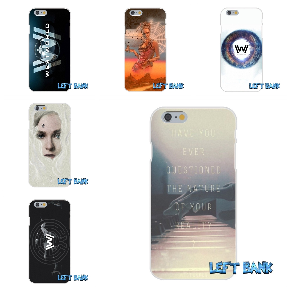 Westworld Soft Silicone TPU Transparent Cover Case For iPhone 4 4S 5 5S 5C SE 6 6S 7 Plus