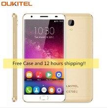 Oukitel K6000 плюс 4 г 5.5 «FHD Octa core 4 ГБ + 64 ГБ 6080 мАч 12 В/ 2A QC зарядки 16MP спереди Touch ID смартфон силиконовый чехол новый телефон