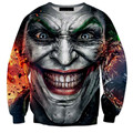 New Fashion Mens/Womens JOKER 3D Print Sweatshirt Hoodies S M L XL XXL 3XL 4XL 5XL 6XL