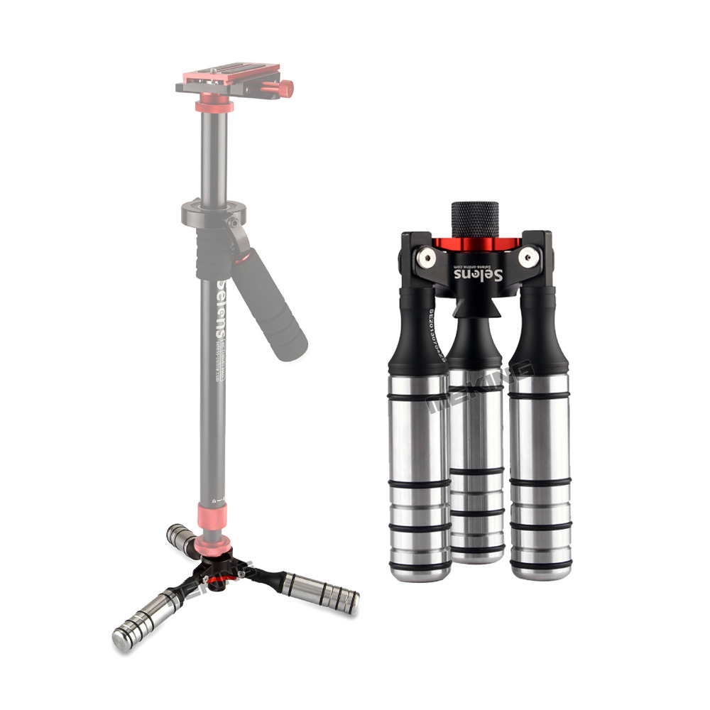 цена на Selens Tripod fixed legs Stabilizing adapter Light Stand general used for photographic steadycam steadicam