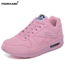Fashion Korean Women Shoes Spring Tenis Feminino Casual Shoes Outdoor Walking Shoes Women Flats Pink Lace Up Ladies Shoe