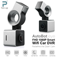 Autobot Eye Smart Wifi Car DVR FHD 1080P Auto Dash Camera Digital Dashcam Video Recorder G-Sensor GPS Night Vision 150 Degree