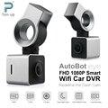 Autobot Olho Inteligente Wifi Carro DVR FHD 1080 P Traço Auto câmera Digital Video Recorder Dashcam G-Sensor GPS Night Vision 150 grau