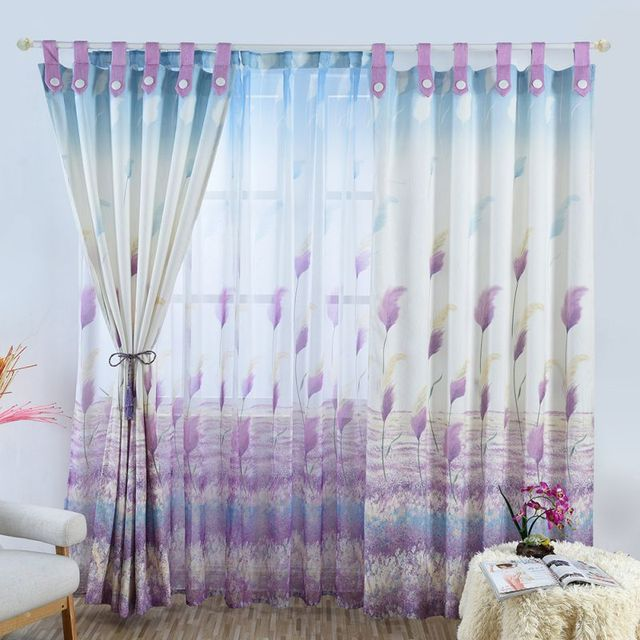 Ocean Style Reed Curtains Screens Unique Harness Hook Way Curtains ...