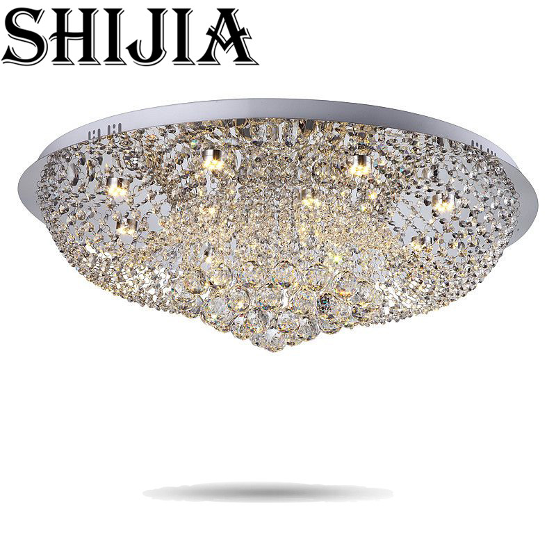 Diameter 400mm Crystal Ceiling Light Fixture Lamp lustres Crystal Light fitting for Foyer Hallyway bedroom MC0564