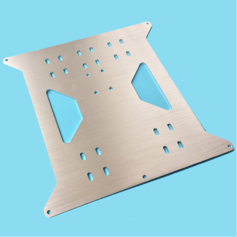 3D printer accessories heating platform for Prusa i3 Z-axis support aluminum hot bed Aluminum alloy support plate 3d printer accessory hot bed aluminum heating base board silver