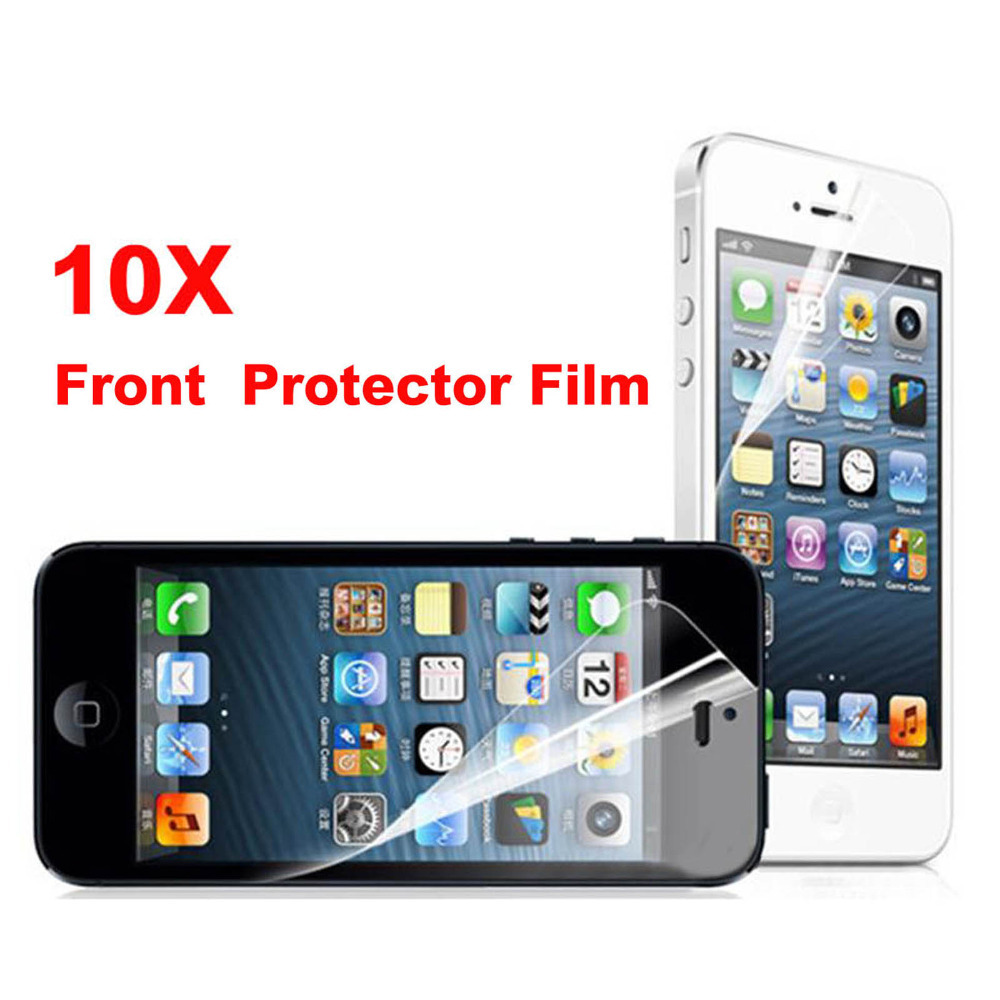 Special Price 10 pcs lot Clear Transparent Front Screen Protector Guard  Film For iPhone 4 4s 5 5S 6 6s 6 6s plus Free shipping-in Phone Screen  Protectors ... 2cb78c0da4