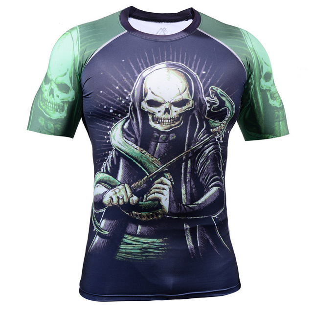 2015 elastic 4-way spandex 3D cycling jerseys tshirts Tee shirts breathable Men s  wear clothWorkout Fitness wear 323e8639e