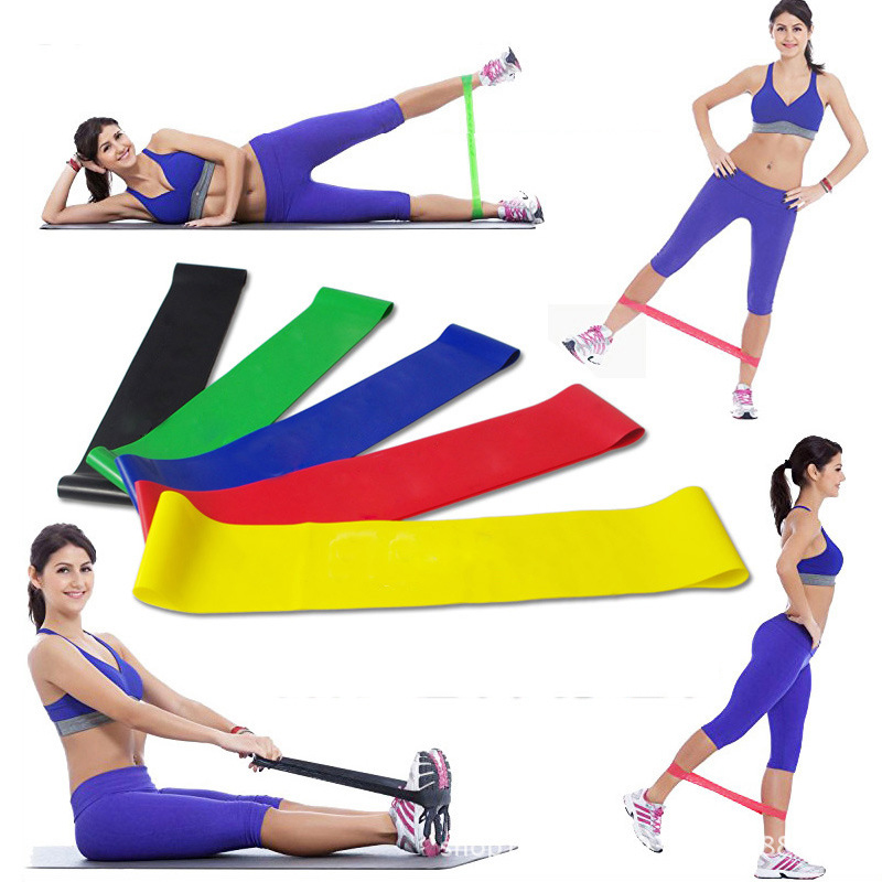 Wnnideo Set Of 5 Quality Exercise Resistance Bands Mini