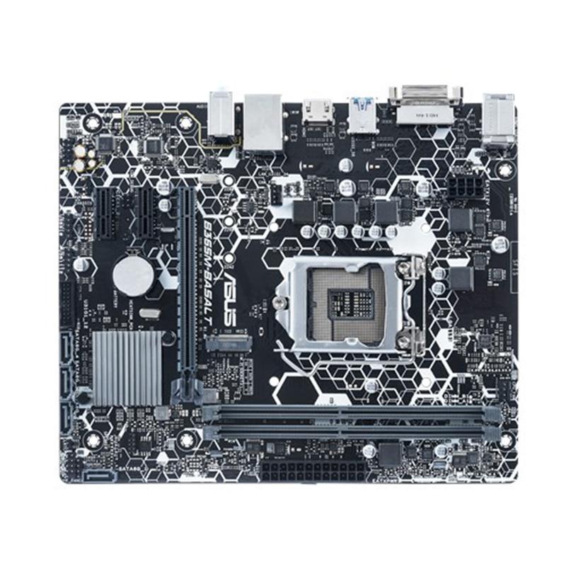 Asus B365M BASALT Motherboard Intel Socket 1151 2x DDR4 Max 32GB RAM Intel B365 Micro ATX