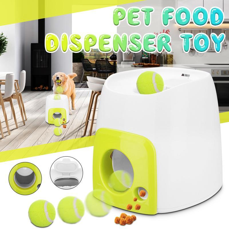 Animal de compagnie chien jouet automatique interactif balle lanceur nourriture récompense éducatif chien distributeur de nourriture jouets chien IQ outil de formation