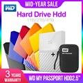 Western Digital mi pasaporte hdd 2,5 USB 3,0 SATA portátil HDD dispositivos de memoria de almacenamiento disco duro externo 1 TB 2 TB 4 TB