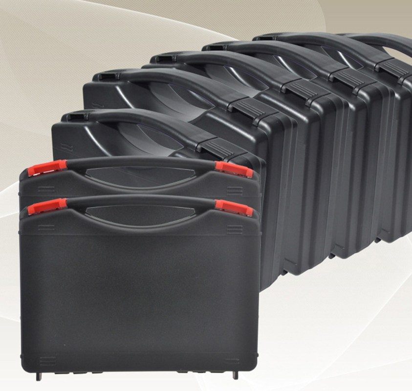 PP Material Light Weigh Plastic Tool Case Carrying Tool Box With Foam