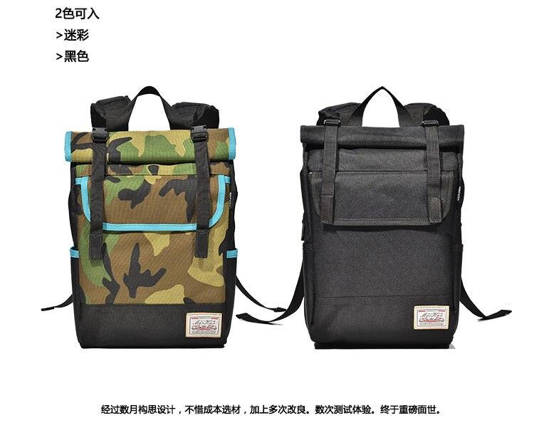 Image 4 - MACKAR Shoulder Skateboard Backpacks 1000D Nylon Small Longboard Bags Men Black/camouflage Street Outdoors Packsacks-in Skate Board from Sports & Entertainment