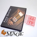 FaceShifter Red with Gimmick by Skulkor   close-up street stage card magic tricks products toys