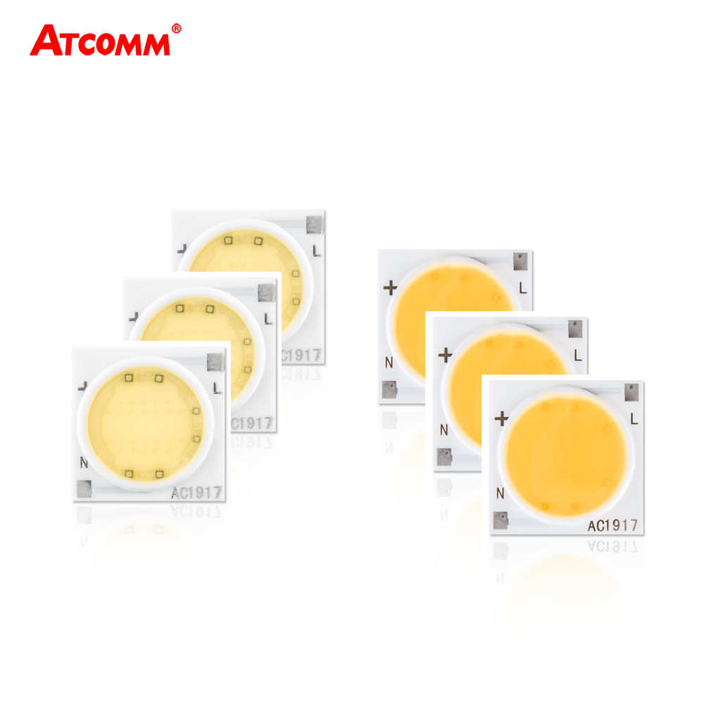 Ceramics LED COB Chip lamp 30W 20W 15W 12W LED Diode Light Matrix 9W 7W 5W 3W 220V Smart IC No Need Driver No Stroboscopic
