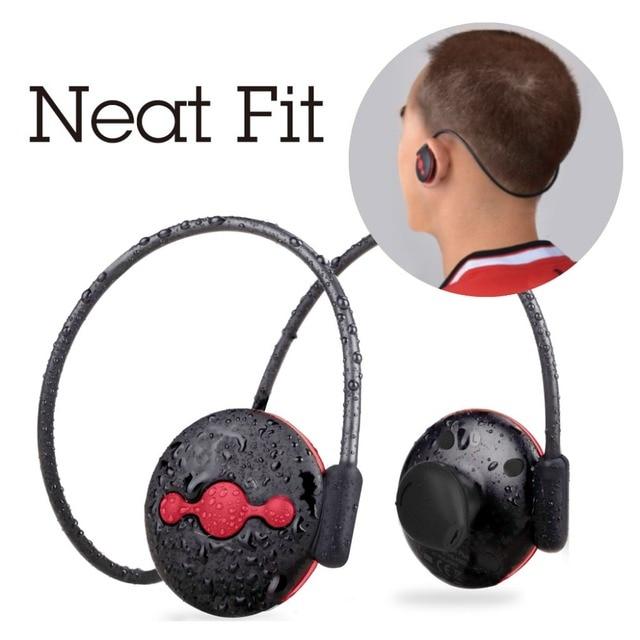 Avantree Sweatproof aptX Bluetooth V4.1 Casque Sport En Plein Air Utilisation Sans Fil Stéréo Casque avec Micro-Jogger Plus