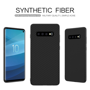 Image 3 - Case voor Samsung Galaxy S10 Plus S10 + S10E Nillkin Synthetische Fiber Carbon Fiber PP Back Cover sFor Samsung Galaxy s10 Plus Case