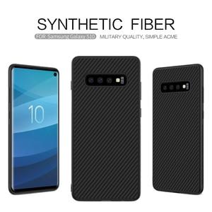 Image 3 - Samsung kılıfı Galaxy S10 Artı S10 + S10E Nillkin Sentetik Fiber Karbon Fiber PP arka kapak sFor Samsung Galaxy S10 Artı Kılıf