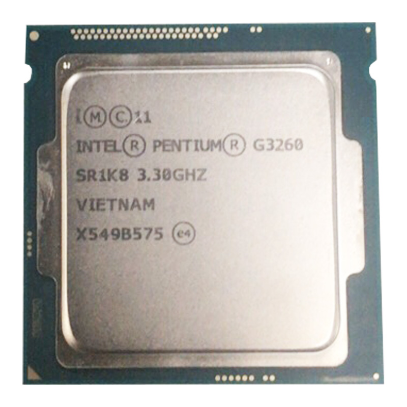 Intel Pentium Processor G3260 3.3g LGA1150 22 Nanometers LGA1150 3M Cache Dual-Core CPU Processor TPD 53W ,have A G3220 Sale