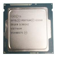 Intel Pentium Processor G3260 3.3g LGA1150 22 nanometers LGA1150 3M Cache Dual-Core CPU Processor TPD 53W  have a g3220 sale