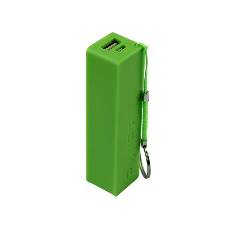 Hot Sale Mini Portable 18650 Battery Charger Box Power Bank 18650 External Backup Battery Charger With Key Chain #ED709