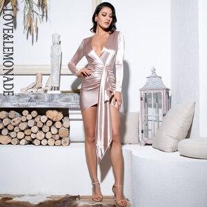 Image 3 - فستان مثير للحفلات على شكل v على شكل حرف v من LOVE & LEMONADE ، فستان LM81639 عاري