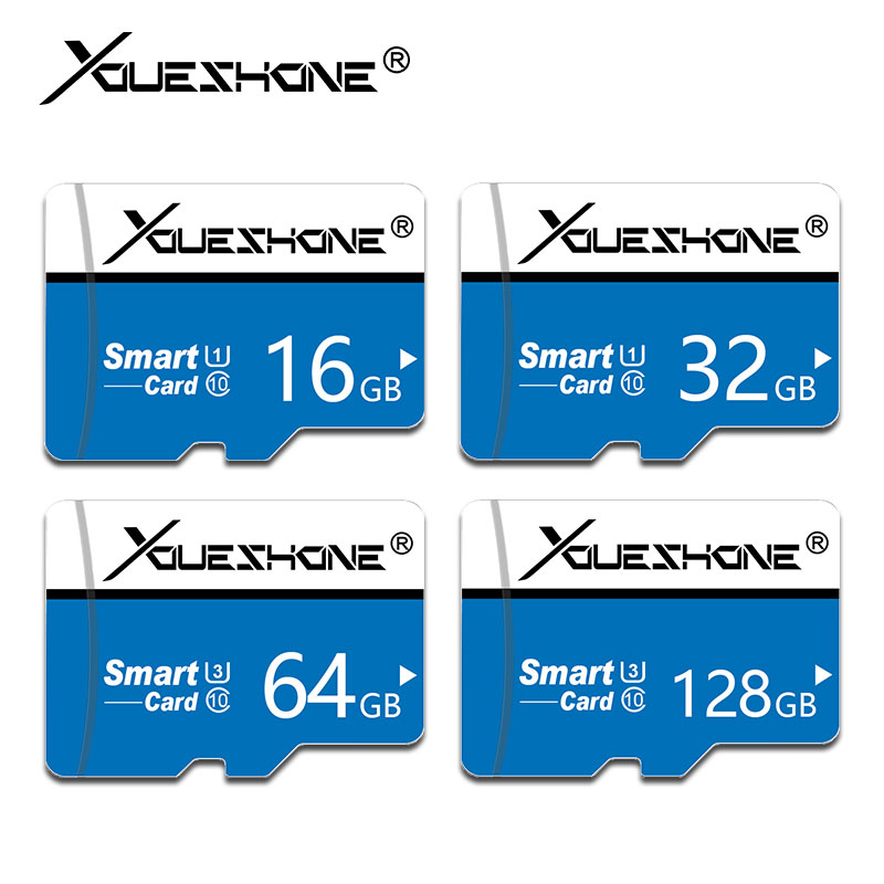 high quality blue Version Micro Card TF Card 8GB 16GB 32GB 64GB 128GB 256GB Class10 memory card  micro sd card cartao de memoria(China)
