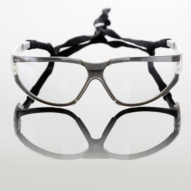 Высокое качество защитные очки серый прозрачный велосипедные очки скобки анти-ультрафиолетового затянуть пояса удобные очки