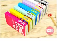 2015 Newest Colorful Inner Page Notebook Delicious Dot Diary Hot Sale Notepad Journal Record Stationery Office School Supplies