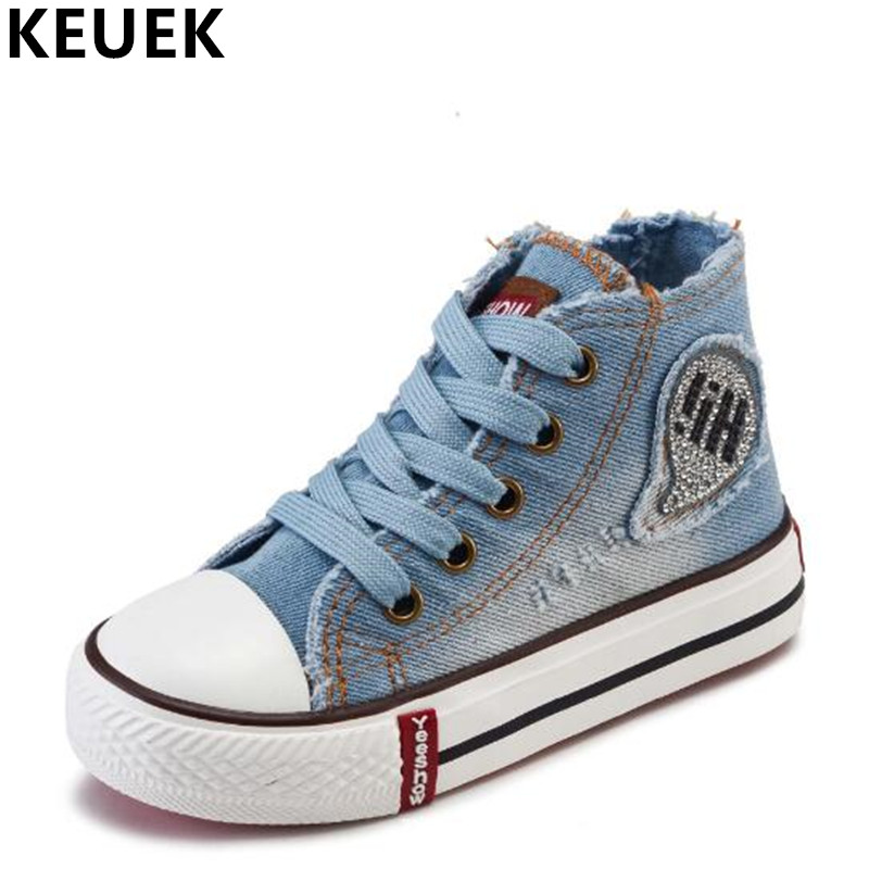 New Arrival Spring/Autumn Canvas Children Shoes Boys Girls Fashion Lace-Up Sneakers Kids Casual Shoes Baby Flats 04